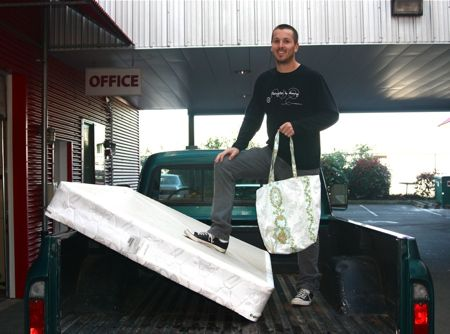 West Seattle Blog… | New West Seattle recycling business: Bed Be on sink disposal, refrigerator disposal, plumbing disposal, appliance disposal, furniture disposal,
