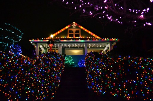 west seattle christmas lights two more homes to see