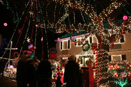 where the menashe family christmas lights are officially on shining bright with visitors already flocking to see them how many lights do you have - Where To Go See Christmas Lights