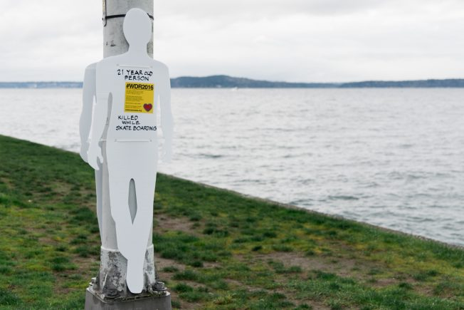 One of four deaths that happened on Alki.