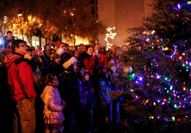 West Seattle Junction Hometown Holidays Tree Lighting