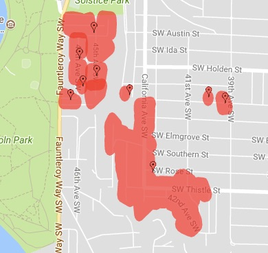 West Seattle Blog Power Outage Updates 370 Customers In