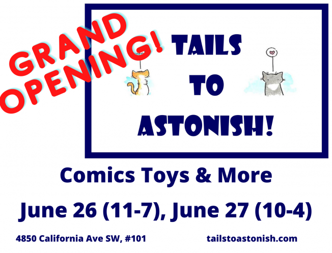 Tails To Astonish grand opening