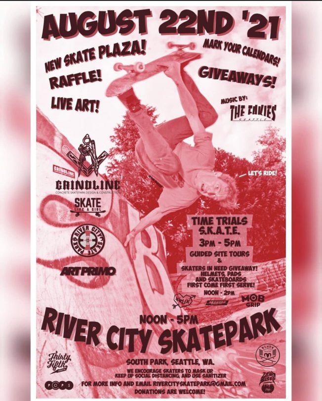 River City Skatepark opening celebration